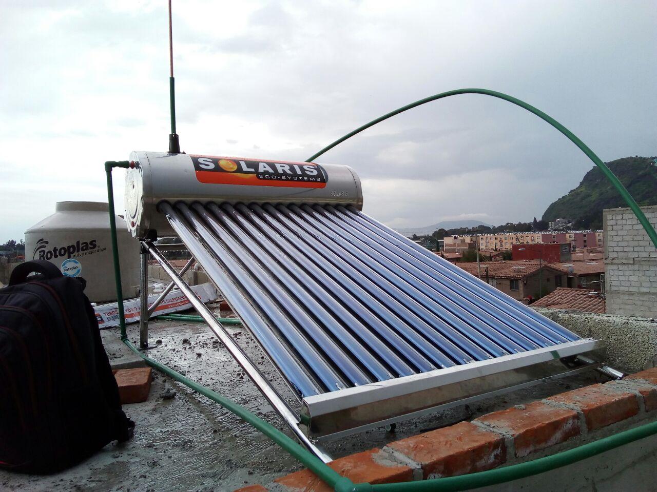 Instalación Para Calentador Solar